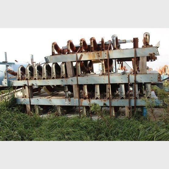 Proveedores de Cintas Transportadoras de Canal a nivel mundial - Cintas transportadoras usadas a la venta - Savona Equipment
