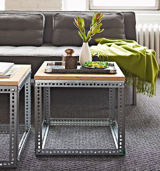 side table - DYI industrial
