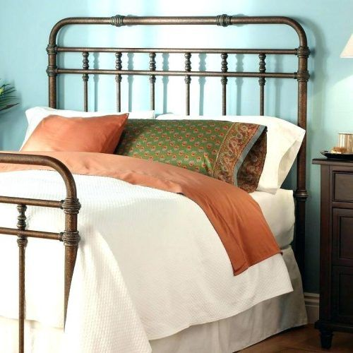 Metal Headboards King California King Metal Headboard Black Iron