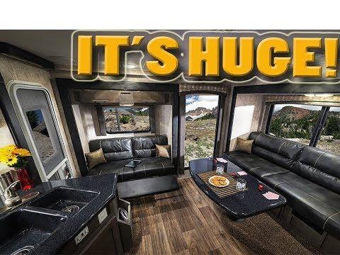 The Biggest Slide In Truck Camper Ever Host Mammoth Triple Pop