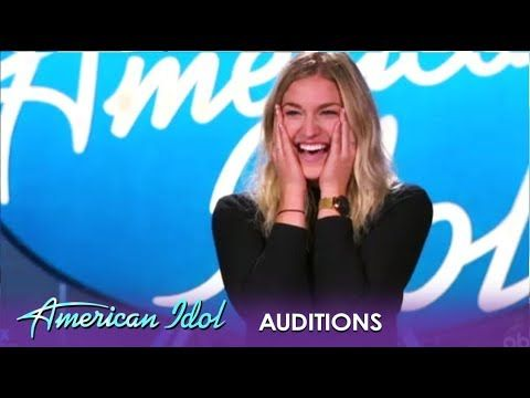 Ashley Hess She S Not Sure Singing Is Her Thing But Then She Opens Her Mouth American Idol 2019 Youtube Talent Show Music Competition American Idol