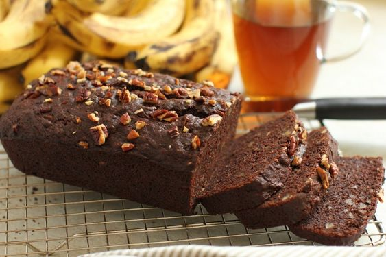 Chocolate Banana Loaf | Gluten-free, Dairy-free, Egg-free