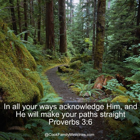 Follow His direction and He will lead you.