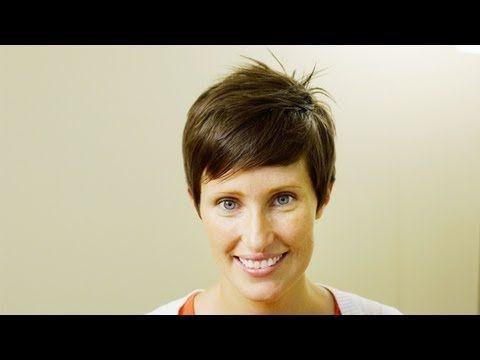 Women's Short Taper Cut Tutorial // How to Cut Women's Hair ...