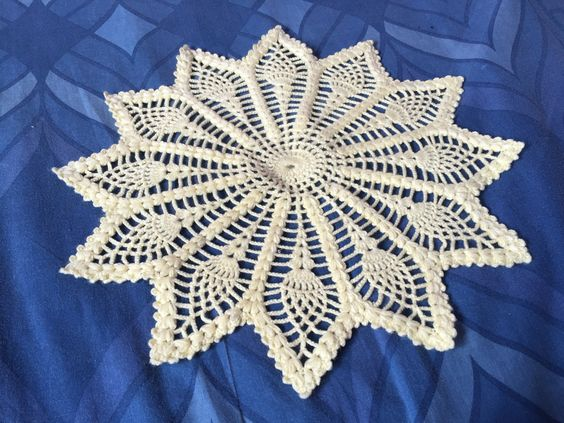 #doily #crocket