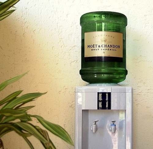 Moet & Chandon 'on tap'