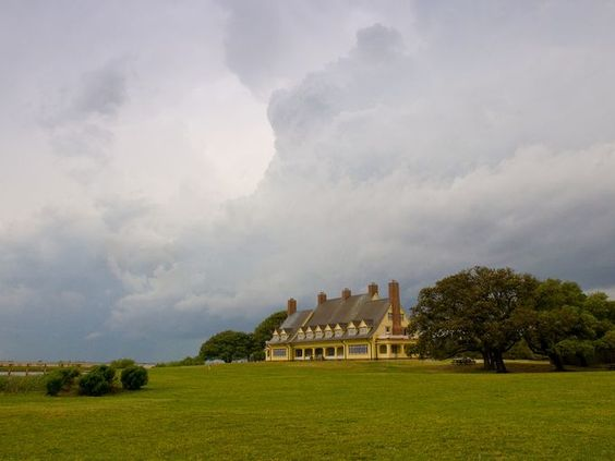 Fifty State Secrets: Hidden Gems to Visit around the USA. The Whalehead Club in Corolla makes the list! l USAToday.com, August 17, 2015 l www.CarolinaDesigns.com
