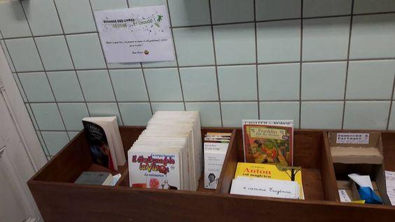 Boîte à livres Monceau-sur-Sambre