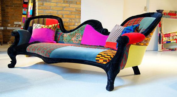 salas modernas con muebles antiguos - Google Search
