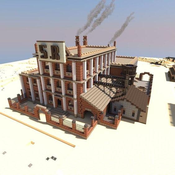 Minecraft Mining Company Refinery Heaquarters