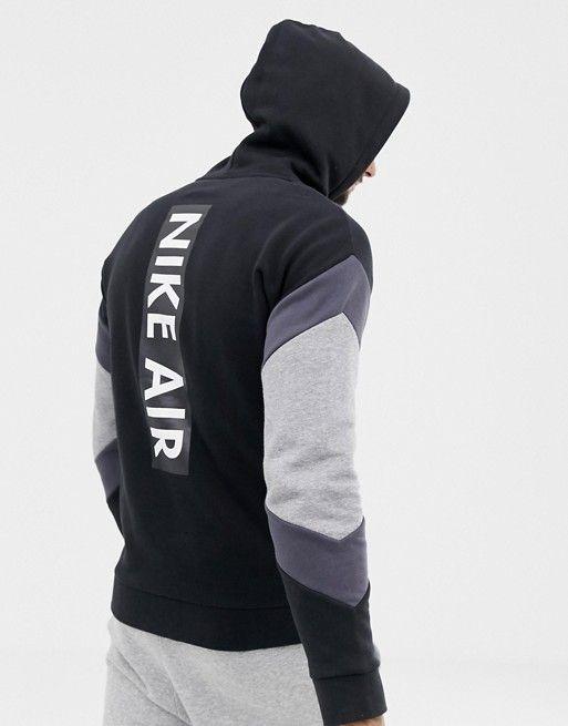 Nike Air Fleece Full zip Hoodie Mens Style : 928629 010