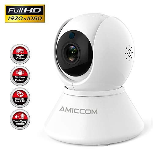 Wifi Camera 1080p Security Camera System Wireless Camera Indoor 2 4ghz Home Camera With 2 Way Audio Night Vision Auto Cruise Motion Tracker Activity Alertsuppor