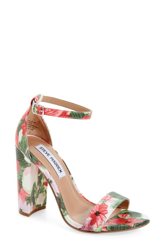 Sexy Floral Summer  Shoes