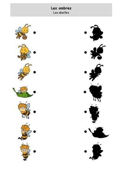 Les ombres - Les abeilles