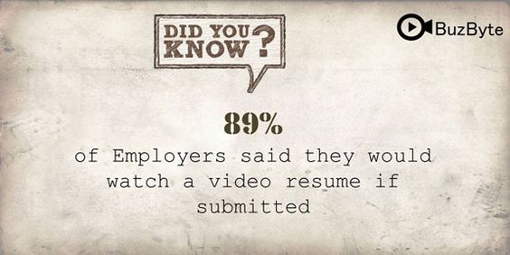 Differences Between Video Resumes \ Traditional Resumes #Video - video resume