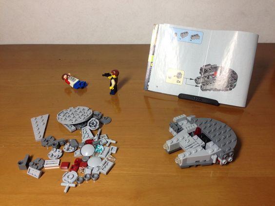 LEGO STAR WARS MICROFIGHTERS 75030 Millennium Falcon http://www.flickr.com/photos/130316250@N03/28075075764/