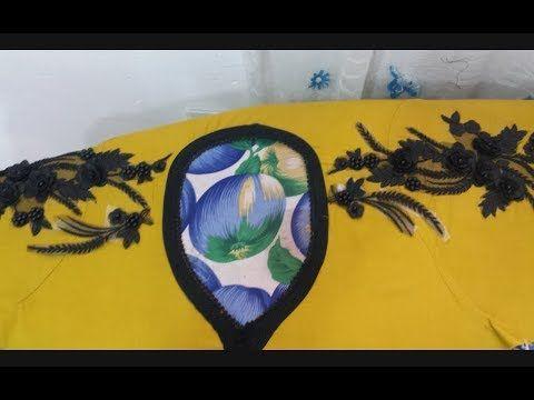 تفصيل وخياطة قندورة دار لكل المناسبات بقماش شوازات ستايل جديد جزء 2 Youtube Painting Art