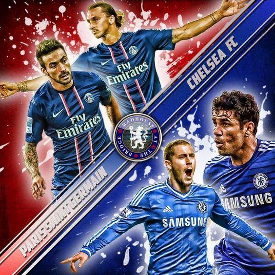 Champions League 2015 Paris Saint Germain Vs Chelsea