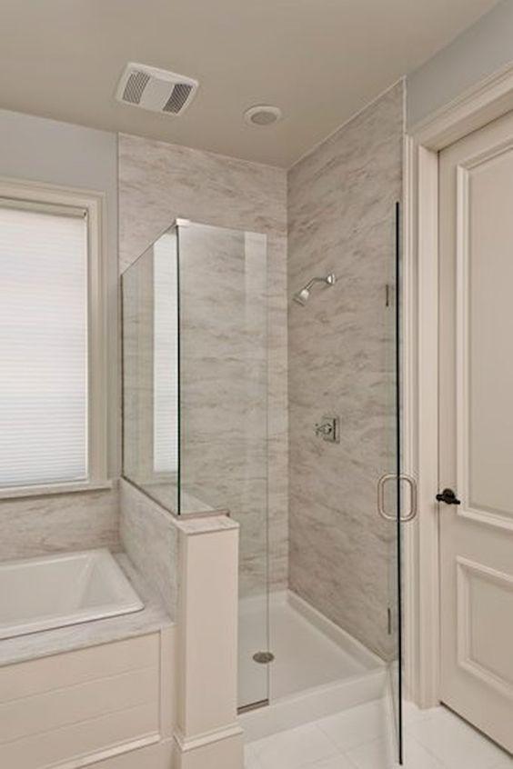 How To Remodel Your Bathroom Bathroomremodel Masterbathroomideas Bathroomtileideas Small Bathroom Remodel Shower Small Master Bathroom Bathroom Remodel Master