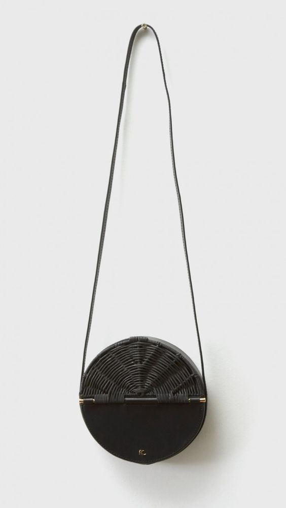 Rachel Comey Baan Bag in Black on Black | The Dreslyn: