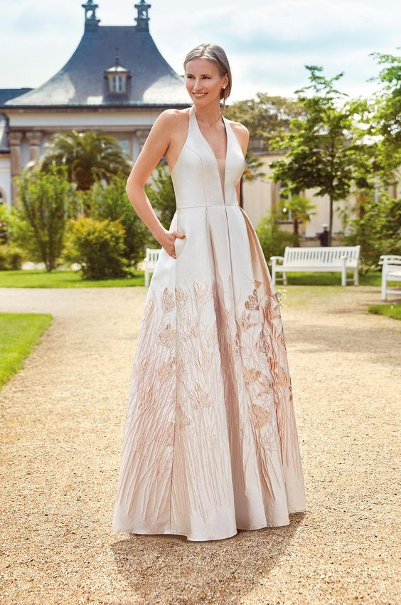 Festliches Kleid Jolanda By Kleemeier Kollektion 2020 Maxikleid Abendkleid Evening Dress Abendkleid Festliche Kleider Kleider