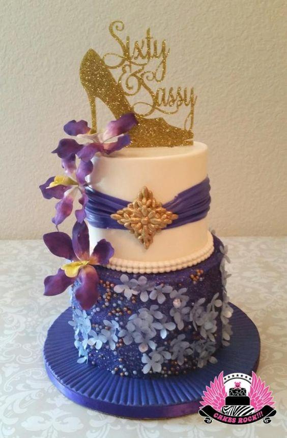 Sassy & Sixty - Cake by Cakes ROCK!!!