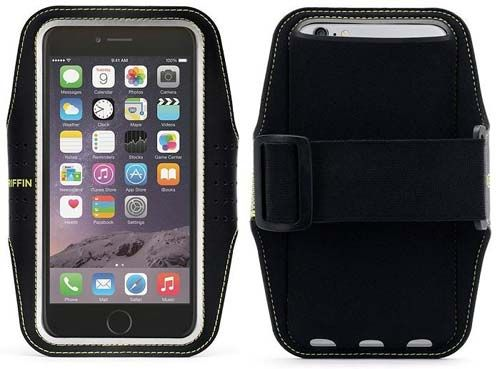 For iphone6 Plus: sweat-wicking neoprene, handsfree wrist band. No more complaining from B that I missed his call, cuz my phone was thrown into the depths of my fjellräven backpack!,)