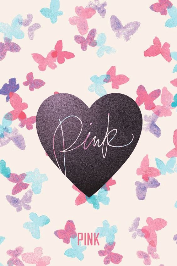 """Victoria's Secret """"Pink"""" phone wallpaper I made. Feel free to use it!"""