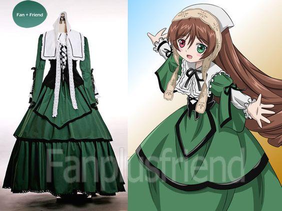 Fanplusfriend Costume Store - Rozen Maiden Cosplay Suiseiseki Fine Velveteen n Cotton Outfit, €170.18 (http://fan-store.net/rozen-maiden-cosplay-suiseiseki-fine-velveteen-n-cotton-outfit/)