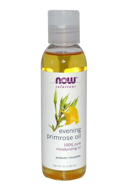 """If you've noticed that you get hormonal acne before your period, TRY TAKING EVENING PRIMROSE OIL CAPSULES. It contains gamma-linolenic acid (anti-inflammatory to help with acne). Applying this oil directly to the face may also help (calming, hydrating)."