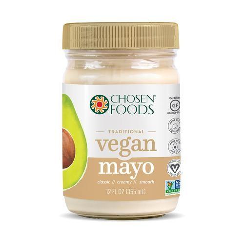 Vegan Avocado Oil Mayo Plant Based Mayo Chosen Foods Avocado Oil Mayo Chosen Foods Protein In Beans