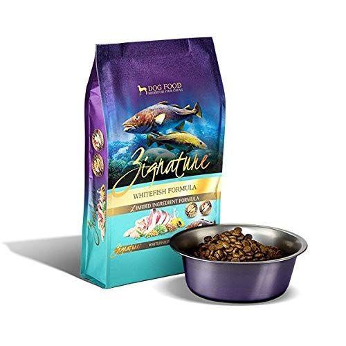 Zignature Whitefish Formula Limited Ingredient Dry Dog Food 4 Lb