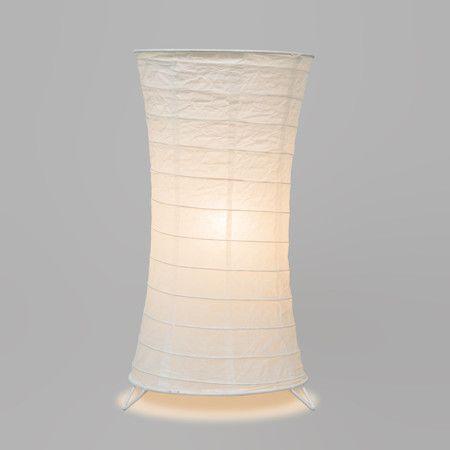Lámpara de mesa PAPEL blanca