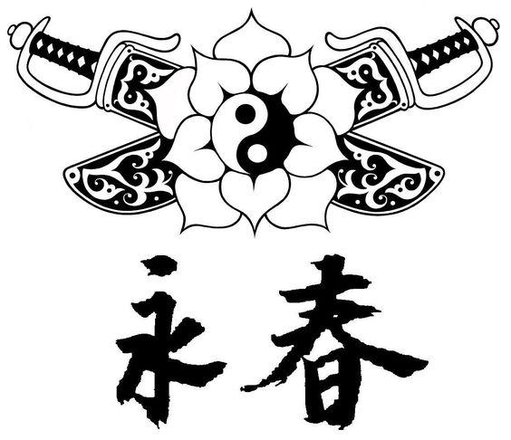 Wing chun chinese symbol
