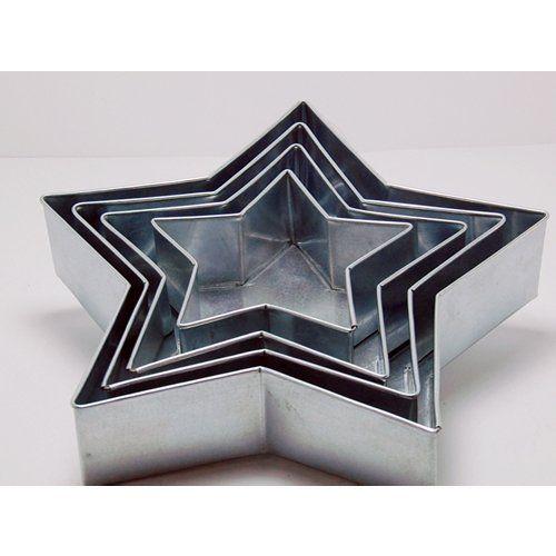 "4 TIER STAR MULTILAYER BIRTHDAY WEDDING ANNIVERSARY CAKE PANS TINS 6"" 8"" 10 "" 12"" EURO TINS http://www.amazon.com/dp/B00BRIV6X4/ref=cm_sw_r_pi_dp_6pTrub047SWWB $30"