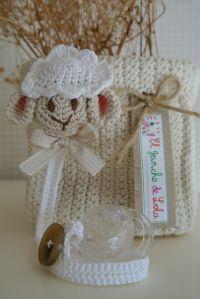 ༺༺༺♥Elles♥Heart♥Loves♥༺༺༺ ........♥Crochet Amigurumi♥........ #Amigurumi #Patterns #Crochet #Softies #Childrens #Toys #Handmade #Teddy #Doll #Tutorial #Patterns #Collectable~ ♥Beautiful Crochet Work By El Gancho De Lola Pacifier Sheep
