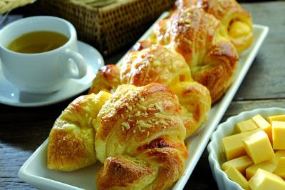 Revista Champagne News: Croissant - receita