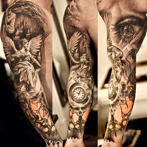 Full sleeve by Niki Norberg, Göteborg, Sweden if I was to ever get a sleeve this would be it