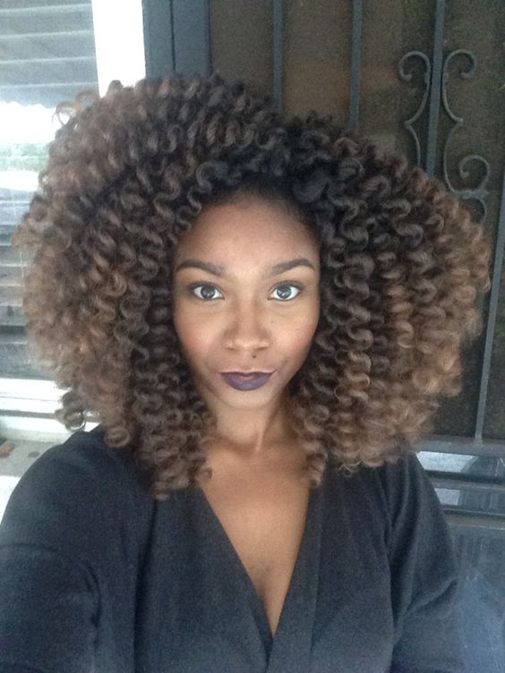 OmbrE Marley crochet braids No leave out! Crochet Braids ...