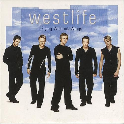 Westlife – Flying Without Wings (single cover art)