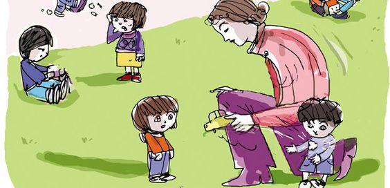 Adaptação tranquila na creche e pré-escola. Guazelli