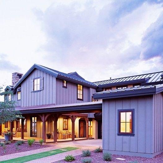 15 Beautiful Board And Batten Siding Ideas Farmhouse Exterior House Exterior Board And Batten Siding