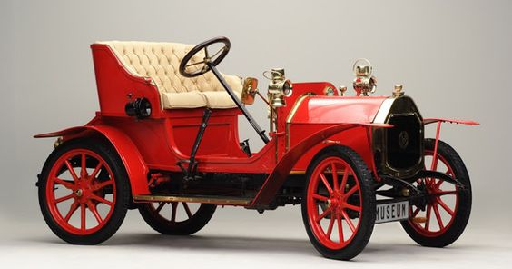 LE ZEBRA - model: Type A - year: 1909  This French car was designed by Jules Salomon who later designed the first Citroën. The first 50 cars were manufactured in 1909 for Le Zébre at the Unic factory in Paris, a well-known manufacturer of taxis and, later, heavy trucks. The Le Zébre is a car with a musical connection