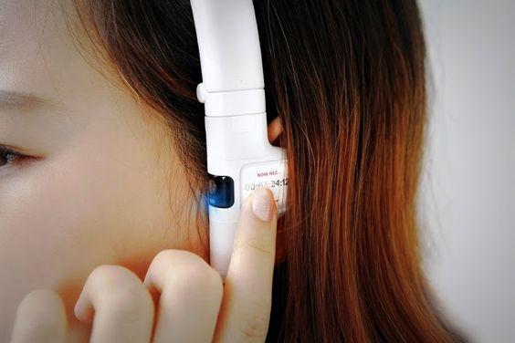 Tecnoneo: Diseño: Los auriculares con cámara Sky Vega nos harán disfrutar de un nuevo concepto de dispositivo móvil