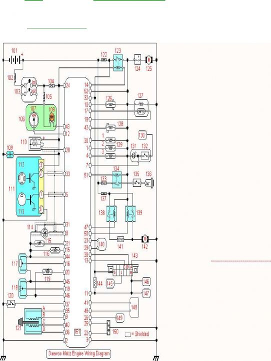 18+ Daewoo Matiz Engine Wiring Diagram - Engine Diagram - Wiringg.net    Daewoo, Diagram, Engineering   Chevrolet Matiz Wiring Diagram      Pinterest