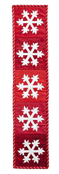 must make this for someone!: Snowflake Quilt, Christmas Quilting, Quilting Christmas, Quilts Christmas, Applique Wall Hanging, Christmas Quilts, Christmas Idea, Christmas Quilt Wall Hanging