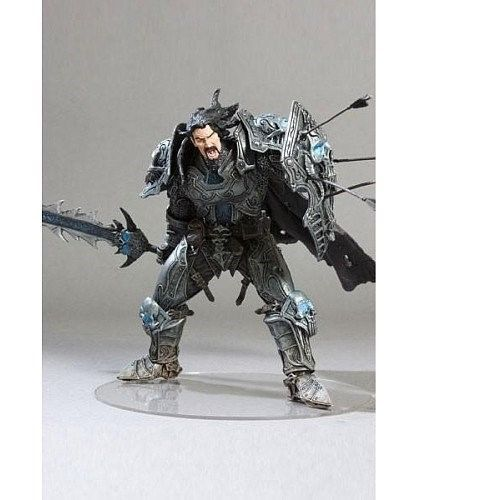 World of Warcraft WOW Death knight Action Figure Statues Figurines 17CM Boxed
