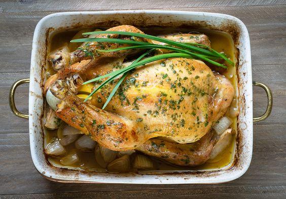 Pollo de campo al horno | Rosemary and Lemon