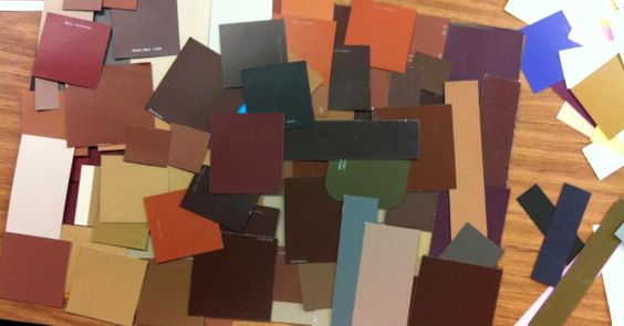 I've been collecting colored papers and color chips for years. Ask students, parents, and community to help.
