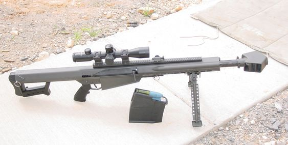 "Barrett XM109 25mm ""Payload Rifle"""
